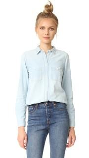 Облегающая рубашка Ex Boyfriend из ткани шамбре Madewell