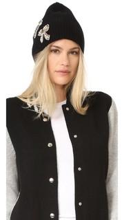 Кашемировая шляпа с декоративной отделкой Marc Jacobs