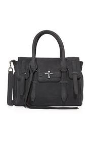 Маленькая сумка-портфель Jules с молнией сверху Rebecca Minkoff