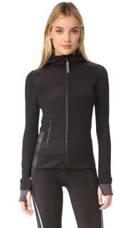 Куртка на молнии с флисовой подкладкой Adidas by Stella Mc Cartney
