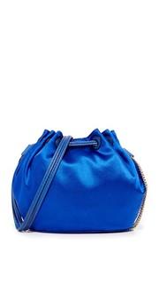 Миниатюрная атласная сумка Love Power на завязках Diane von Furstenberg
