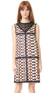 Платье без рукавов с воротником Marc Jacobs