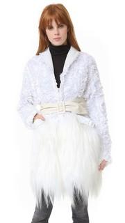 Белое пальто Rodarte