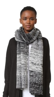 Меланжевый шарф с эффектом деграде Rebecca Minkoff