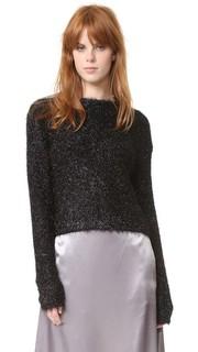 Легкий пуловер Glean с округлым вырезом Tibi