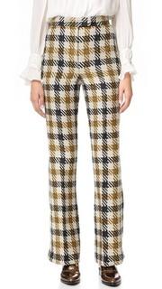 Расклешенные брюки Margot с разрезами внизу Whistles