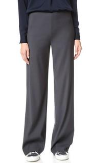 Искусственно состаренные широкие брюки Vince