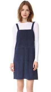 Замшевое платье без рукавов Jenni Kayne