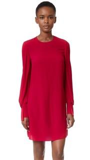 Платье с драпированными рукавами 3.1 Phillip Lim