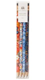 Набор карандашей с цветочными рисунками Rifle Paper Co