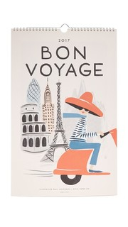 Календарь Bon Voyage на 2017 год Rifle Paper Co