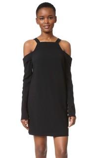 Платье с открытыми плечами Tibi
