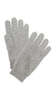 Кашемировые перчатки White + Warren
