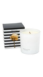 Свеча с ароматом табака и ванили Biren & Co.