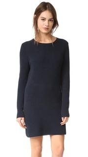 Платье-свитер с округлым вырезом 525 America