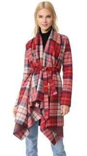 Пальто-накидка с поясом Harris Wharf London