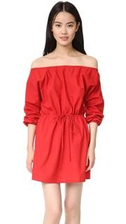 Платье с открытыми плечами MLM Label