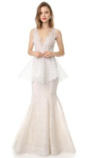 Вечернее платье Lavender Marchesa