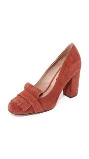 Замшевые туфли-лодочки Jade с бахромой килти Steven