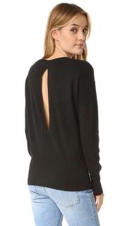 Кашемировый свитер с разрезом на спине Vince