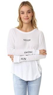 Тепля футболка Never Ending Wildfox