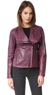 Куртка Newell из стираной кожи BB Dakota