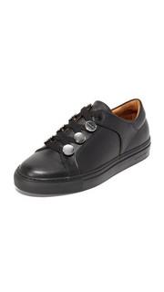 Кожаные кроссовки Carven