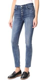 Обрезанные потрепанные джинсы Stunner с гульфиком Mother