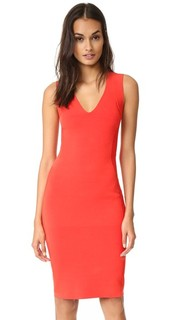 Трикотажное платье без рукавов Narciso Rodriguez