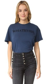Футболка с надписью «Whatever» Wildfox