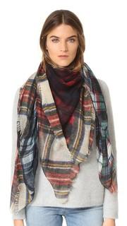 Клетчатый шарф Evans Wash Franco Ferrari