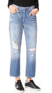 Прямые укороченные джинсы Ivy с высокой посадкой J Brand