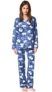 Пижама PJ Salvage с принтом в виде слонов