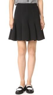 Плиссированная юбка Carven