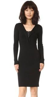 Платье с длинными рукавами Fuzzi