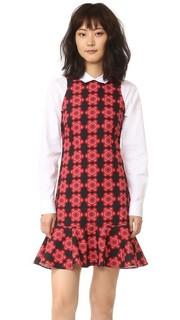 Свободное платье с принтом Holly Fulton