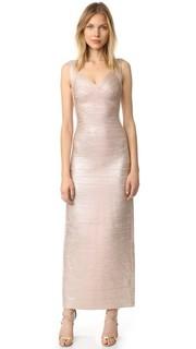 Макси-платье Estrella Herve Leger