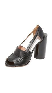Кожаные туфли на каблуках Maison Margiela
