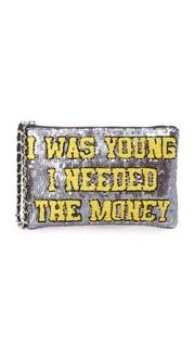 Сумочка на молнии с надписью «I Was Young I Needed The Money» Mua Mua