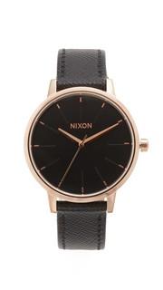 Часы Lux Life Kensington с кожаным ремешком Nixon
