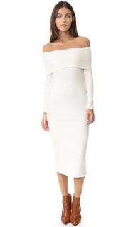 Роскошное рубчатое платье Welsy Rachel Pally