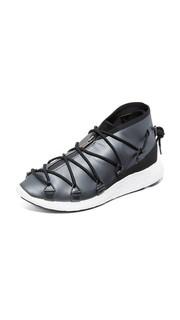 Беговые кроссовки на шнуровке Y-3 Cross