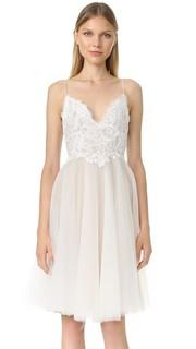 Платье Kylie с V-образным вырезом Monique Lhuillier