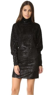Платье с воротником под горло McQ - Alexander Mc Queen