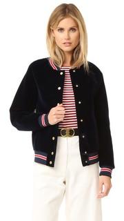 Куртка-бомбер Scuba в студенческом стиле Hilfiger Collection