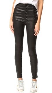 Кожаные брюки Natasha J Brand