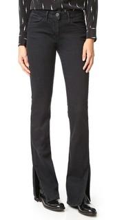 Расклешенные джинсы W2 с разрезами на швах 3x1