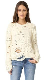 Объемный свитер Kary с эффектом поношенности Zadig & Voltaire