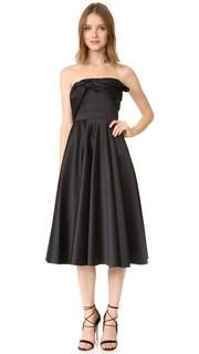 Платье чуть ниже колен без бретелек Cynthia Rowley