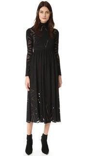 Платье из прожженной ткани Mara Hoffman